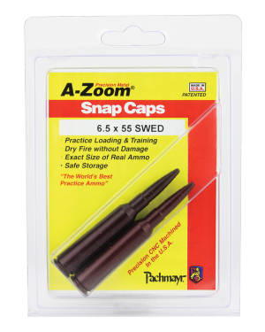A-Zoom 6.5x55 Swed Snap Caps Rifle Group A 5P/Pk