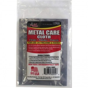 Pro-Shot Products Metal Clean Cloth Non-Toxic