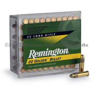 Remington 22 LR, 40 Gr RN High Velocity
