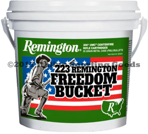 Remington 223 Rem, 55 Gr MC