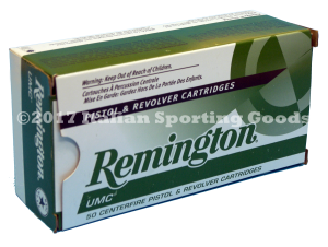 Remington 38 Super Auto +P, 130 Gr FMJ