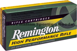Remington 375 H&H, 270 Gr SP