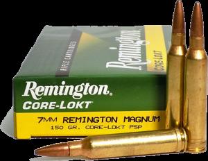 Remington 7MM Rem Mag, 150 Gr PSP