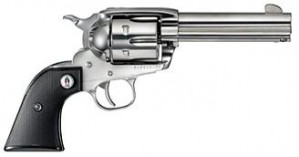"""Ruger Vaquero SASS Stainless 357 Mag, 4 5/8"""" Barrel (Sold in Pairs only)"""