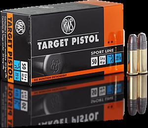 RWS 22 LR, 40 Gr Target Pistol