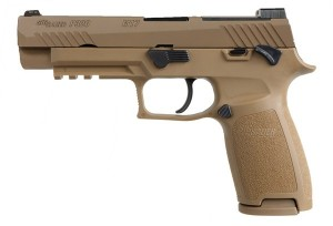 Sig Sauer P320 M17 Manual Safety Coyote