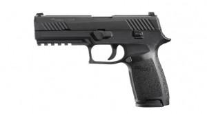 "Sig Sauer P320F Nitron Black 9MM Luger, 4 3/4"" Barrel"