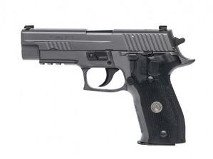 "Sig Sauer P226 Legion Black DA/SA X-Ray 9MM Luger, 4 1/2"" Barrel"