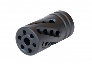 """Tactical Solutions I X-Ring .920"""" Compensator Performance Series Matte Black"""