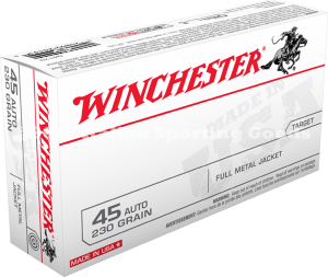 Winchester 45 Auto, 230 Gr FMJ Caslelot