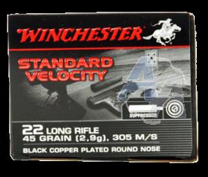 Winchester 22 LR, 40 Gr LRN European