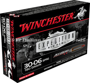 Winchester 30-06 Sprg, 180 Gr Accubond