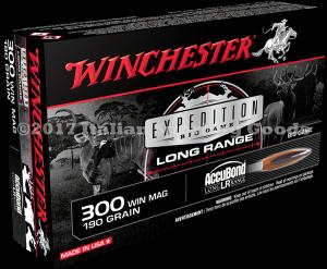 Winchester 300 Win Mag, 190 Gr Accu-LR