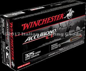 Winchester 325 WSM, 200 Gr Accubond