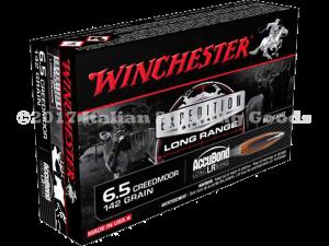 Winchester 6.5 Creedmoor, 142 Gr Accu-LR
