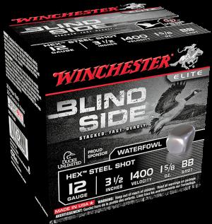 """Winchester 12 Ga, 3 1 /2"""" 1 5/8 Oz BB Stl"""