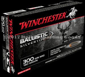 Winchester 300 Win Mag, 180 Gr Ball STip