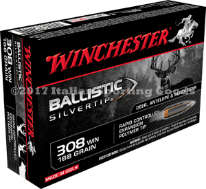 Winchester 308 Win, 168 Gr Ballistic STip