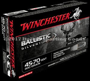 Winchester 45-70 Govt, 300 Gr Ball STip