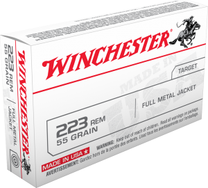 Winchester 223 Rem, 55 Gr FMJ LC Value