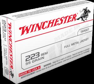 Winchester 223 Rem, 55 Gr FMJ LC Value