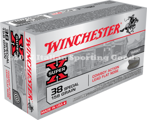 Winchester 38 Special, 158 Gr Lead FN