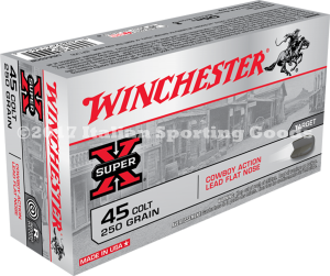Winchester 45 Colt,  250 Gr Lead FN