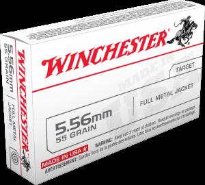 Winchester 5.56 NATO, 55 Gr FMJ LC Value