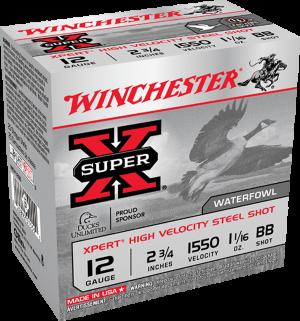 """Winchester 12 Ga, 2 3/4"""" 1 1/16 Oz  BB St"""