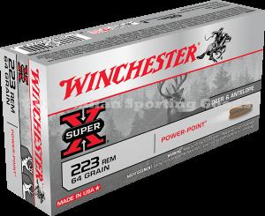 Winchester 223 Rem, 64 Gr Power Point