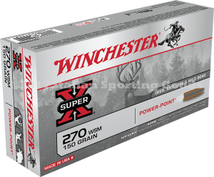 Winchester 270 WSM, 150 Gr Power Point