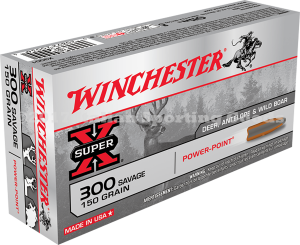 Winchester 300 Savage, 150 Gr Power Point