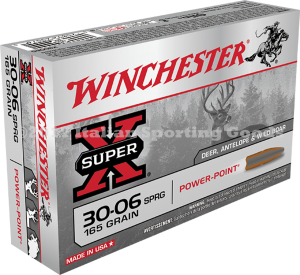Winchester 30-06 Sprg, 165 Gr Pointed SP