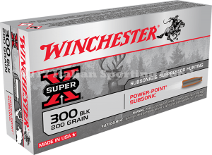 Winchester 300 Blackout, 200 Gr HP Expand