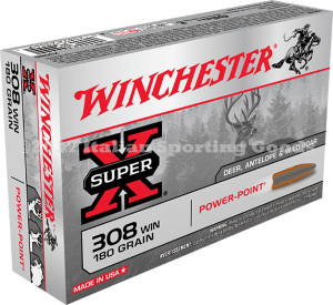 Winchester 308 Win, 180 Gr Power Point