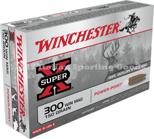 Winchester 300 Win Mag, 150 Gr PP