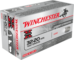 Winchester 32-20 Win, 100 Gr Lead