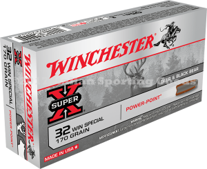 Winchester 32 Win Special, 170 Gr PP