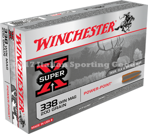 Winchester 338 Win Mag, 200 Gr