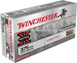Winchester 375 Win, 200 Gr Power Point