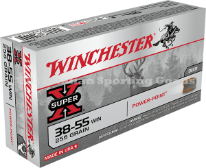 Winchester 38-55 Win, 255 Gr Soft Point