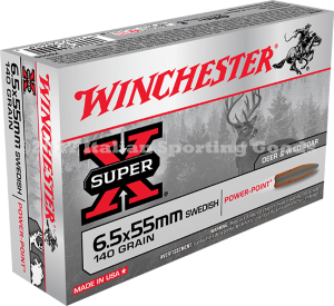 Winchester 6.5x55 Swedish, 140 Gr SP