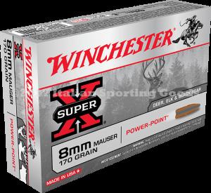 Winchester 8MM Mauser, 170 Gr PP