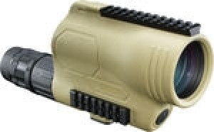 Bushnell TAC Optics Spotting Scope, 15-45x60 Mil-Hash Reticle Straight