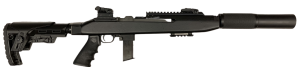 "Chiappa Firearms M1-9 NSR Carbine Adj Stock 9MM Luger, 19"" Barrel"