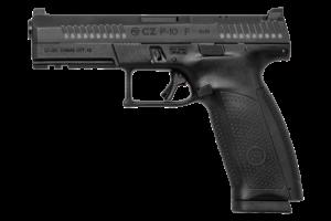 "CZ P-10F Full Size Optic Ready Black 9MM Luger, 4 1/2"" Barrel"